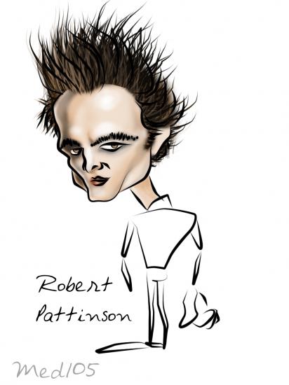 Robert Pattinson par mohamed105